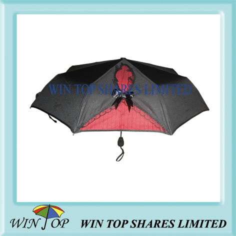 Auto open and close butterfly knot umbrella