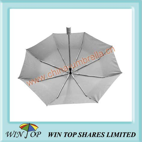 "21"" full auto grey umbrella"